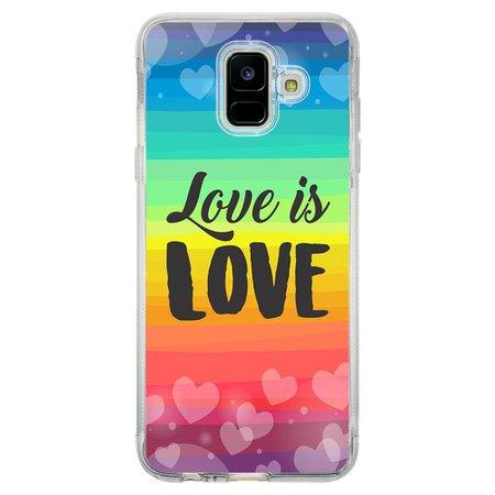 Capa Personalizada Samsung Galaxy A6 A600 LGBT - LB12