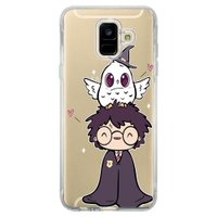 Capa Personalizada Samsung Galaxy A6 A600 Harry Potter - HP06