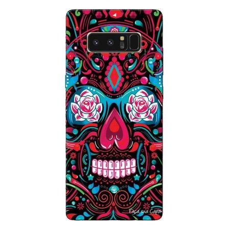 Capa Personalizada Samsung Galaxy Note 8 Caveira Mexicana - CV12