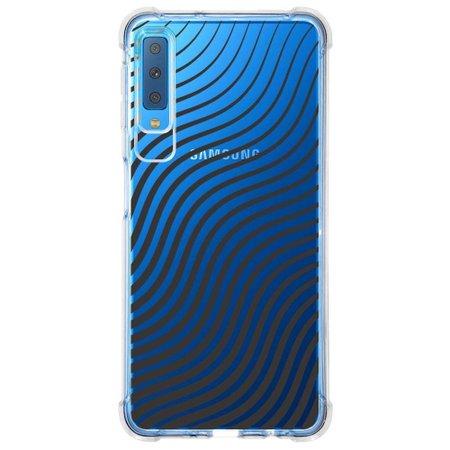 Capa Personalizada Samsung Galaxy A7 2018 Minimalista - MN12