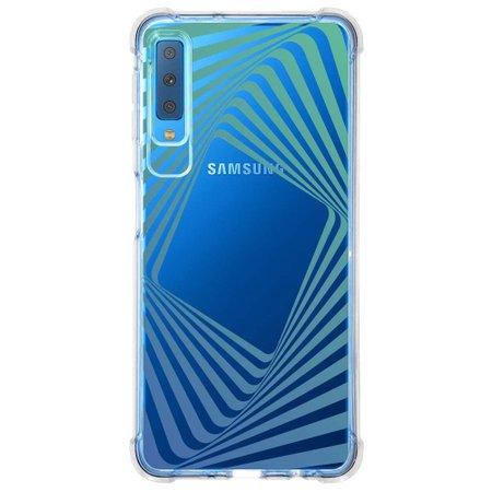 Capa Personalizada Samsung Galaxy A7 2018 Minimalista - MN13