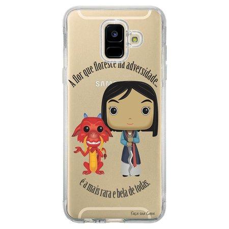 Capa Personalizada Samsung Galaxy A6 A600 Princesa Mulan - TP131