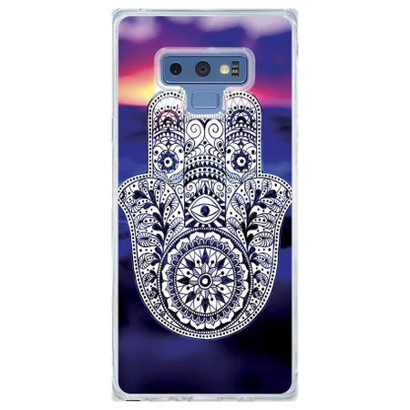 Capa Personalizada Samsung Galaxy Note 9 Hamsá - AT09