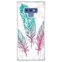 Capa Personalizada Samsung Galaxy Note 9 Penas - AT08