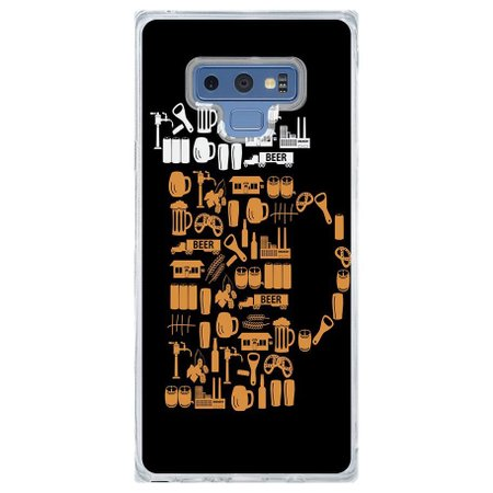 Capa Personalizada Samsung Galaxy Note 9 Beer - AT77