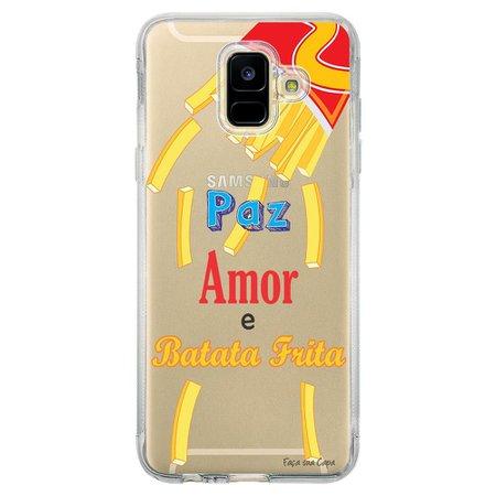 Capa Personalizada Samsung Galaxy A6 A600 Frases - TP104