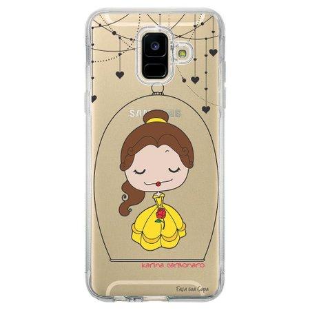 Capa Personalizada Samsung Galaxy A6 A600 Princesa Bela - TP100