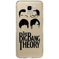 Capa Personalizada Samsung Galaxy J6 J600 The Big Band Theory - TV95