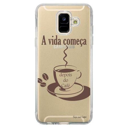Capa Personalizada Samsung Galaxy A6 A600 Frases - TP01