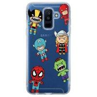 Capa Personalizada para Samsung Galaxy A6 Plus A605 Super Heróis - TP118