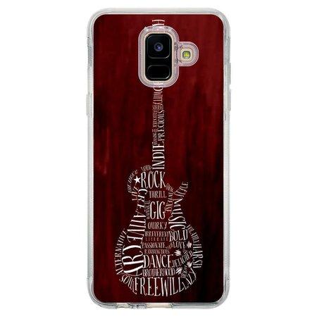 Capa Personalizada Samsung Galaxy A6 A600 Música - MU36