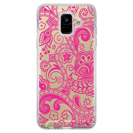 Capa Personalizada Samsung Galaxy A6 A600 Rendas - TP03