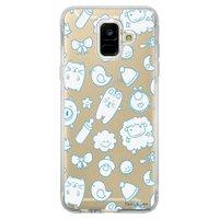 Capa Personalizada Samsung Galaxy A6 A600 Cute - TP12