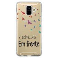 Capa Personalizada Samsung Galaxy A6 A600 Frases - TP43