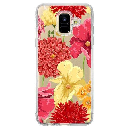 Capa Personalizada Samsung Galaxy A6 A600 Florais - TP35