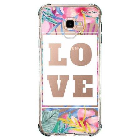Capa Personalizada para Samsung Galaxy J4 Plus J415 Floral - FL22