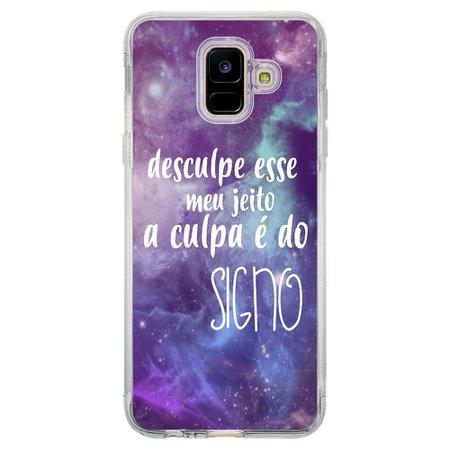 Capa Personalizada para Samsung Galaxy A6 A600 Signos - SN37