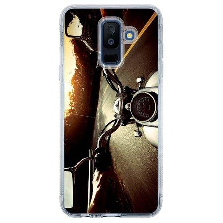 Capa Personalizada para Samsung Galaxy A6 Plus A605 Motocicleta - VL09