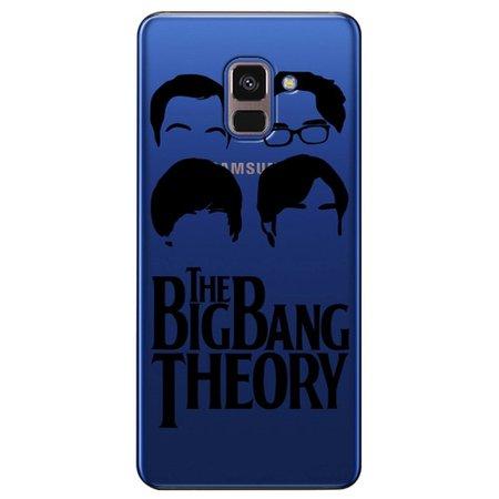 Capa Personalizada para Samsung Galaxy A8 2018 Plus - The Big Bang Theory - TV95