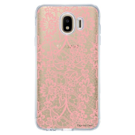 Capa Personalizada para Samsung Galaxy J4 J400M Rendas - TP284
