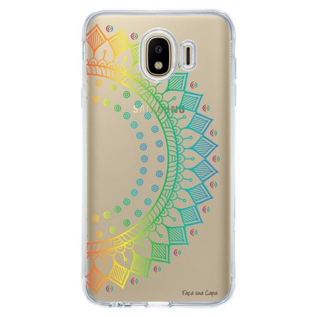Capa Personalizada Samsung Galaxy J4 J400M Mandala - TP252