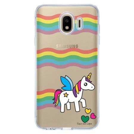 Capa Personalizada para Samsung Galaxy J4 J400M Unicórnio - TP181