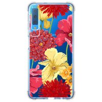 Capa Personalizada Samsung Galaxy A7 2018 Floral - TP35