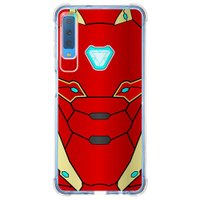 Capa Personalizada Samsung Galaxy A7 2018 Super Heróis - SH15