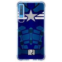 Capa Personalizada Samsung Galaxy A7 2018 Super Heróis - SH16