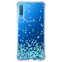 Capa Personalizada Samsung Galaxy A7 2018 Corações - TP172