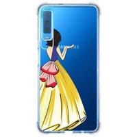 Capa Personalizada Samsung Galaxy A7 2018 Princesa - TP203