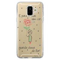 Capa Personalizada Samsung Galaxy A6 A600 Frases - TP112