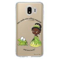 Capa Personalizada para Samsung Galaxy J4 J400M Princesa Tiana - TP129