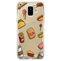 Capa Personalizada Samsung Galaxy A6 A600 Food - TP105