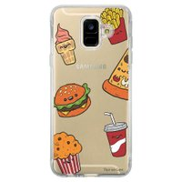 Capa Personalizada Samsung Galaxy A6 A600 Food - TP106