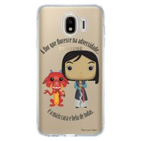 Capa Personalizada para Samsung Galaxy J4 J400M Princesa Mulan - TP131