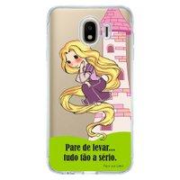Capa Personalizada para Samsung Galaxy J4 J400M Princesa Rapunzel - TP130