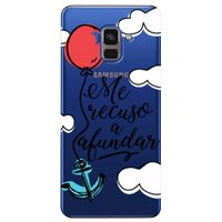 Capa Personalizada para Samsung Galaxy A8 2018 Plus - Me Recuso - TP377