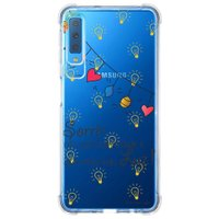 Capa Personalizada Samsung Galaxy A7 2018 Frases - TP115