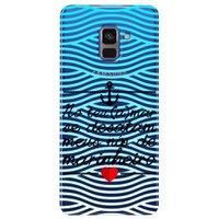 Capa Personalizada para Samsung Galaxy A8 2018 Plus - Nó de Marinheiro - TP378