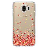 Capa Personalizada Samsung Galaxy J4 J400M Corações - TP168