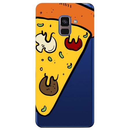 Capa Personalizada para Samsung Galaxy A8 2018 Plus - Pizza - TP380