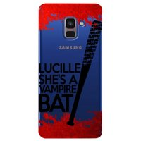 Capa Personalizada para Samsung Galaxy A8 2018 Plus - The Walking Dead - TV100
