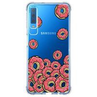 Capa Personalizada Samsung Galaxy A7 2018 Donuts - TP108