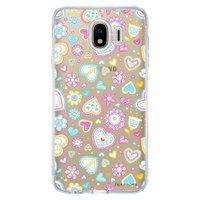 Capa Personalizada Samsung Galaxy J4 J400M Corações - TP143