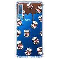 Capa Personalizada Samsung Galaxy A7 2018 Nutella - TP109
