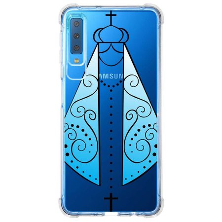 Capa Personalizada Samsung Galaxy A7 2018 Nossa Senhora - TP350