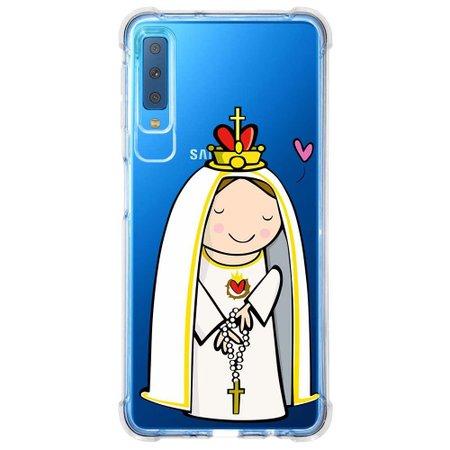 Capa Personalizada Samsung Galaxy A7 2018 Nossa Senhora - TP353