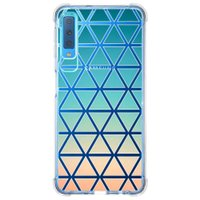 Capa Personalizada Samsung Galaxy A7 2018 Abstrato - TP372