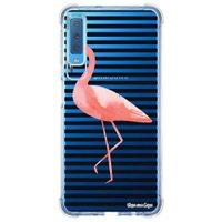 Capa Personalizada Samsung Galaxy A7 2018 Flamingos - TP317